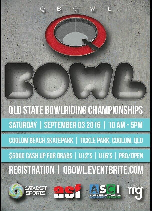 QLD Bowl Riding Championships