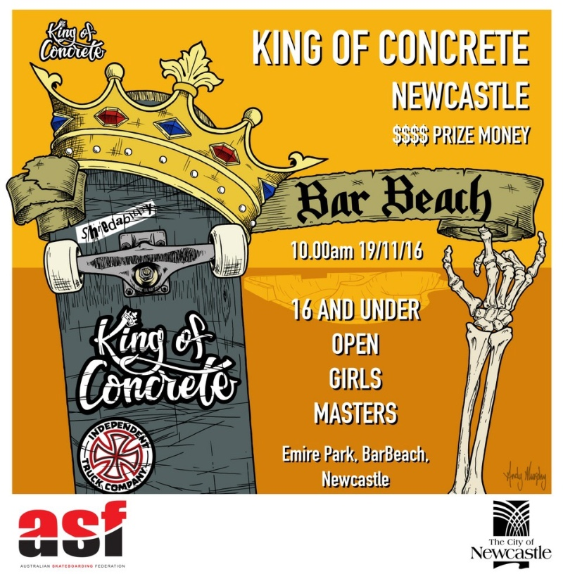 King of Concrete Newcastle