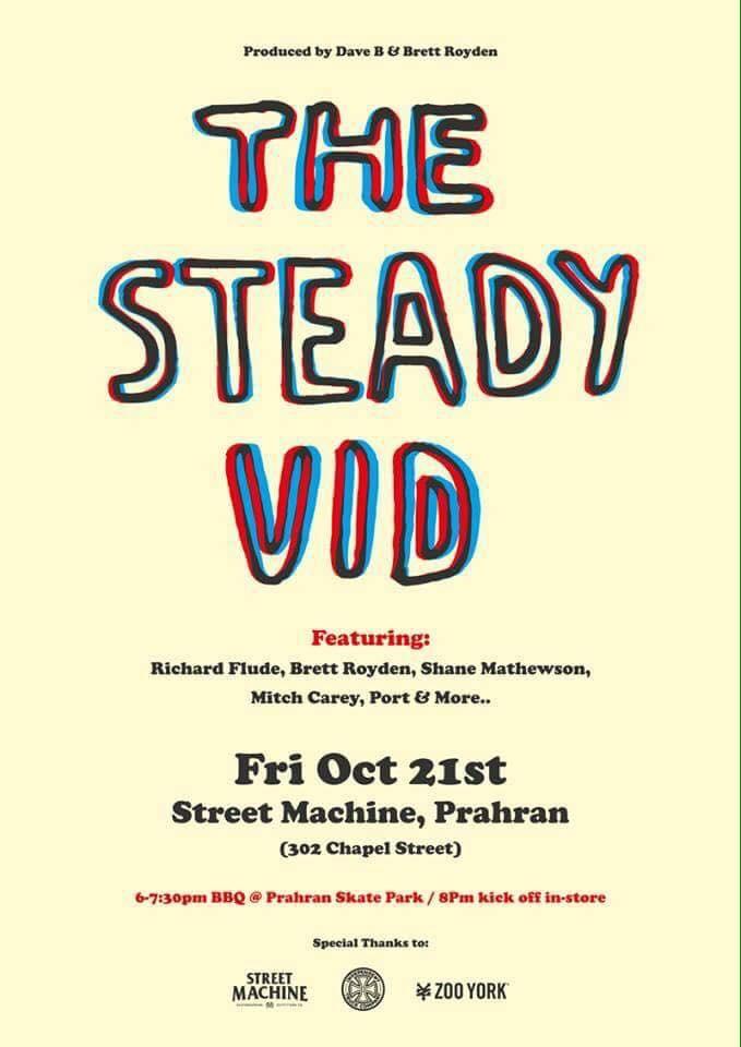 Steady Video Premiere