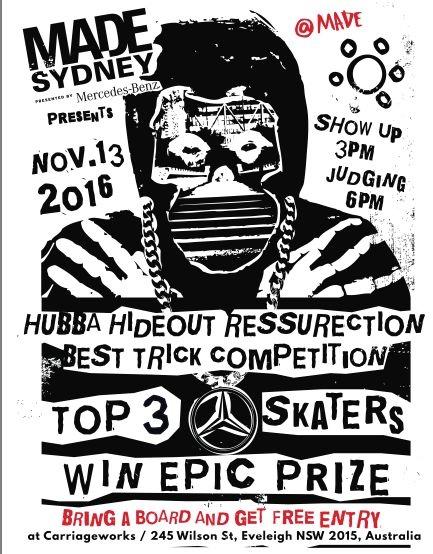 RE: Made Sydney