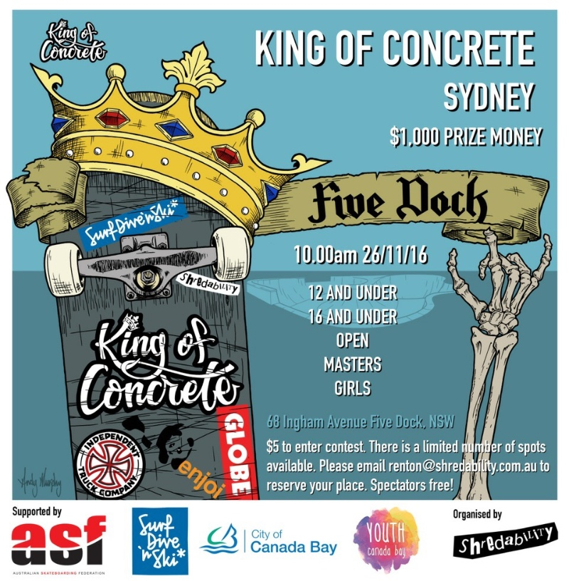 King of Concrete Five Dock
