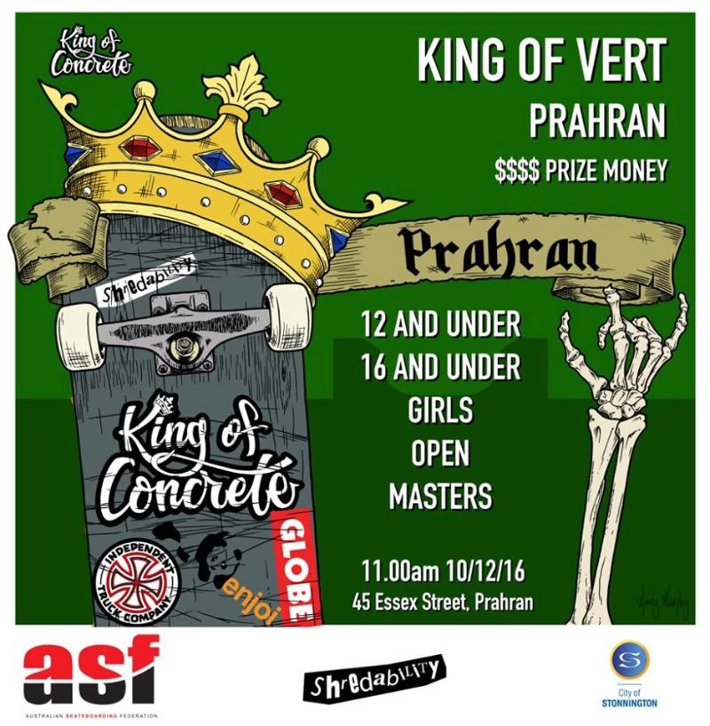 RE: King of Vert Prahran