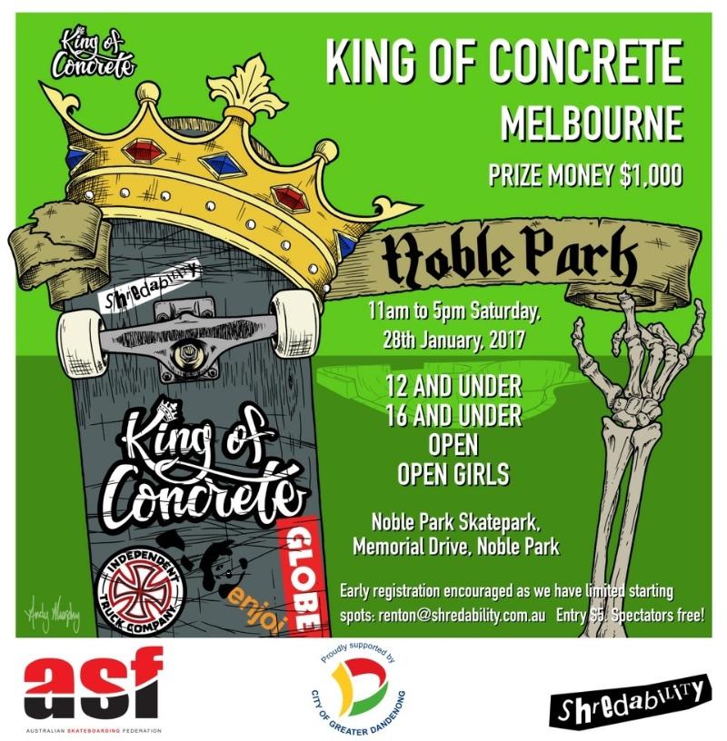 King of Concrete Melbourne