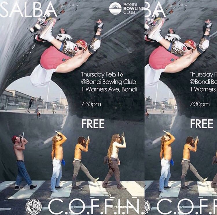 SALBA and COFFIN Gig
