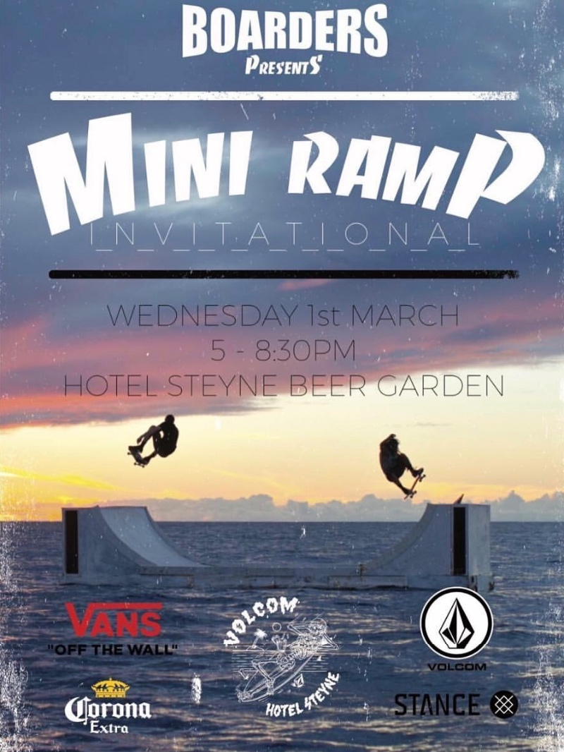 Boarders Mini Ramp Jam