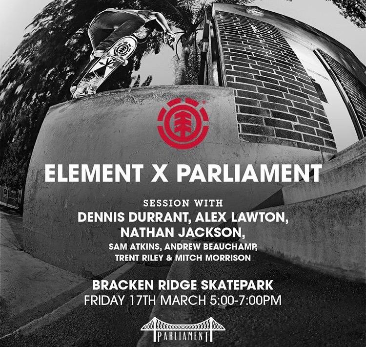 Parliament and Element at Brackenridge