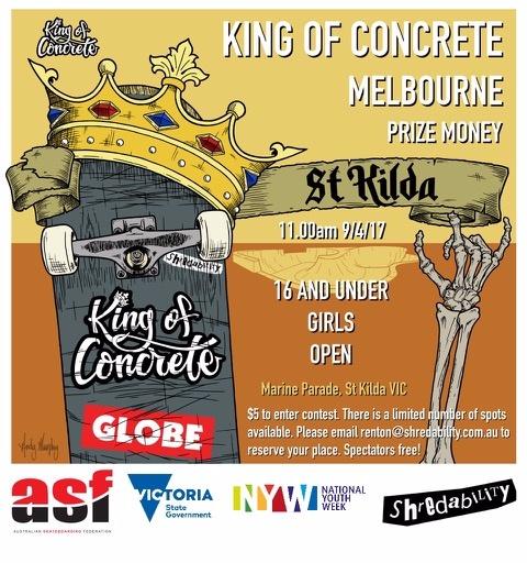 King of Concrete St Kilda
