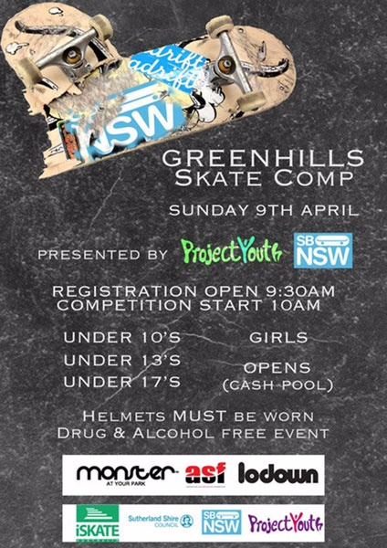 Greenhills Comp Sunday 9th April