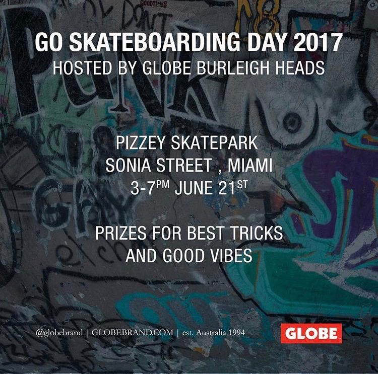 Globe Burleigh Heads GSD 2017