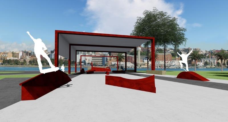 RE: Stockton Skate Plaza concept