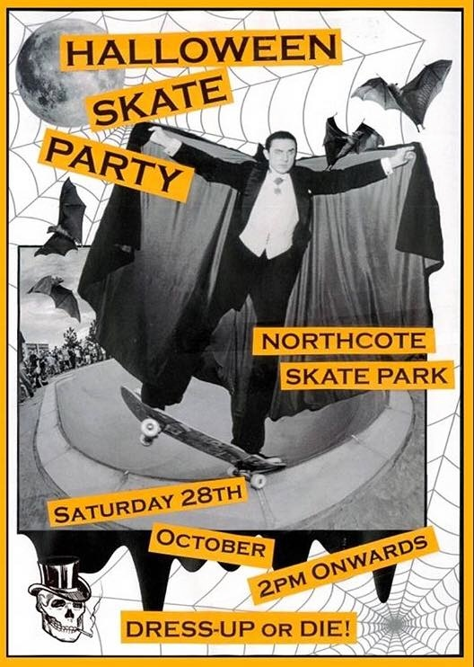 Halloween Skate Party