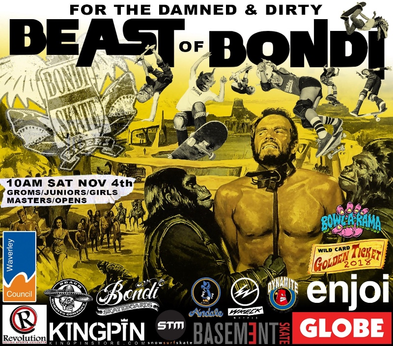 Beast of Bondi Comp