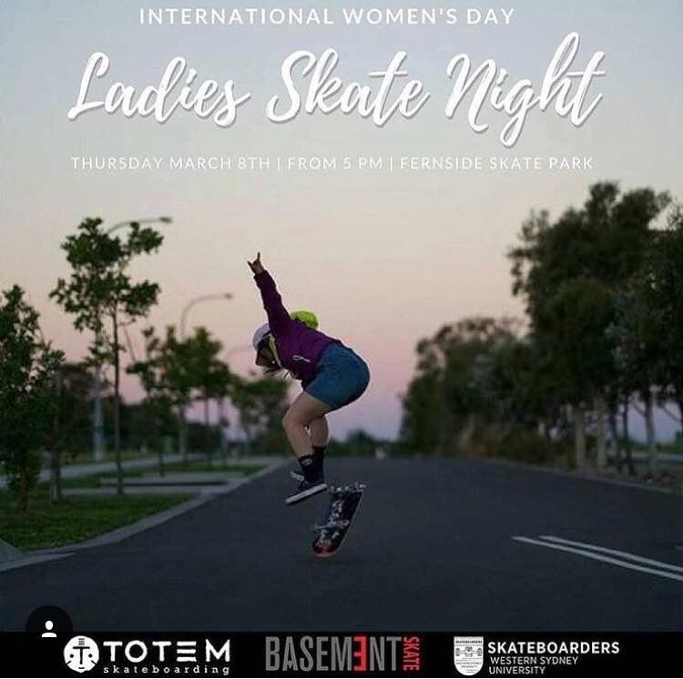 Ladies Skate Night