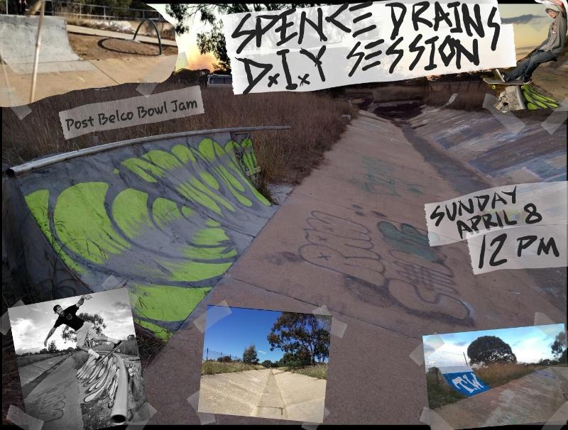 Spence Drains DIY Session! (After Belco Bowl Jam)