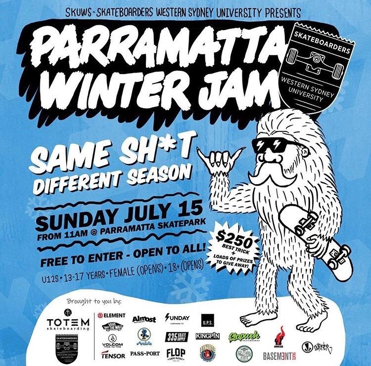 Parramatta Winter Jam