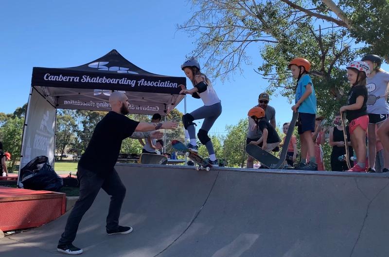 RE: Free Skateboarding workshop for kids in Canberra.