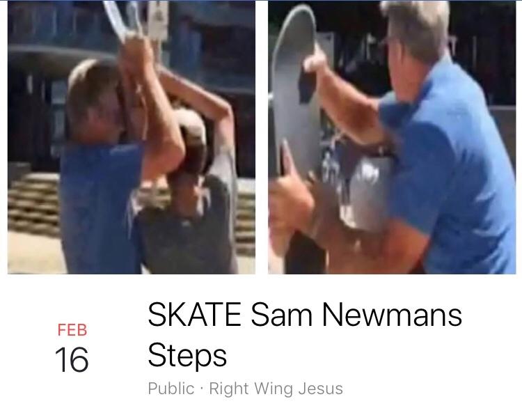 Sam Newman Skate Event