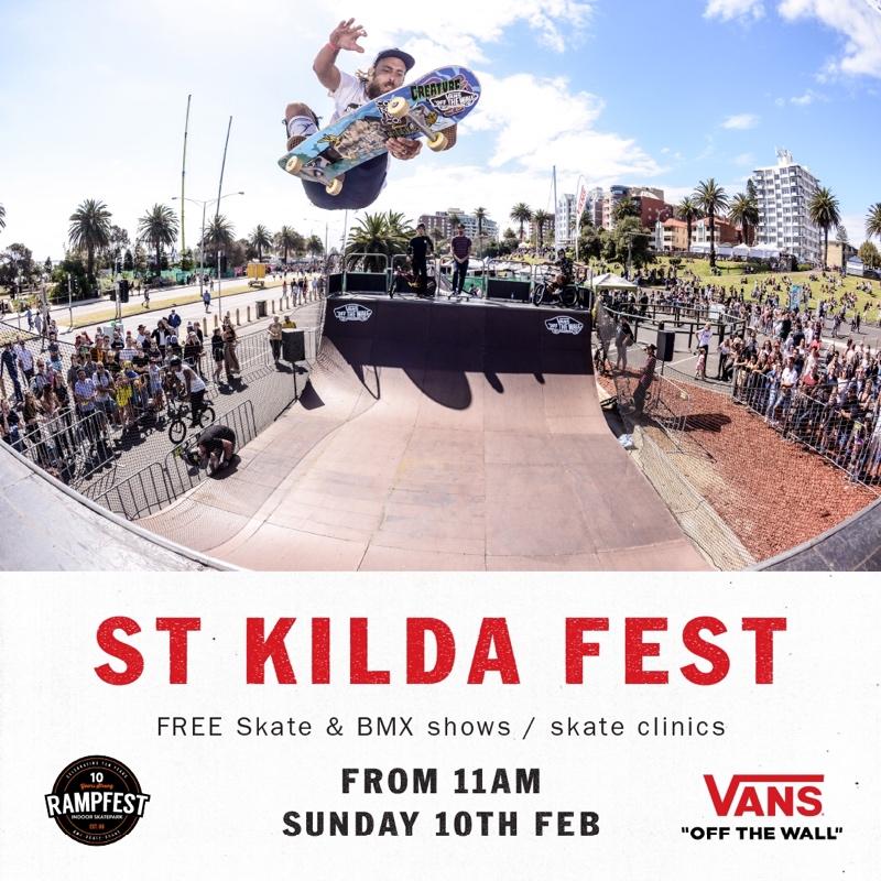 Vans at St Kilda Festival