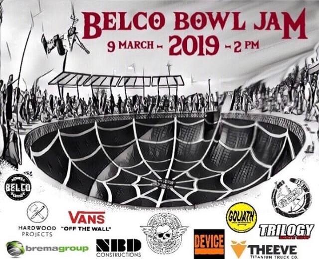 RE: Belco Bowl Jam 2019