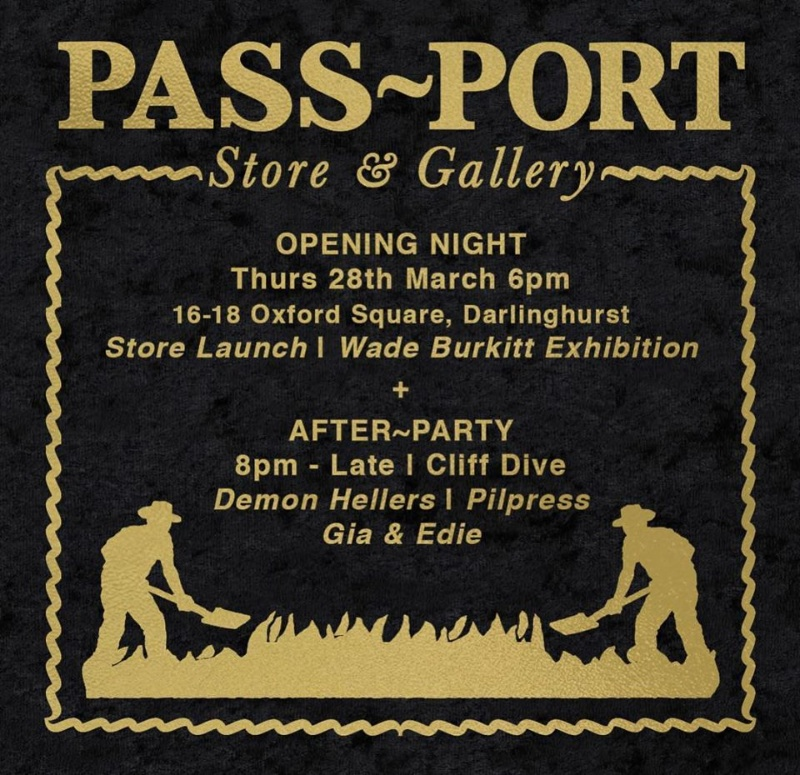 RE: Pass Port Store and Gallery