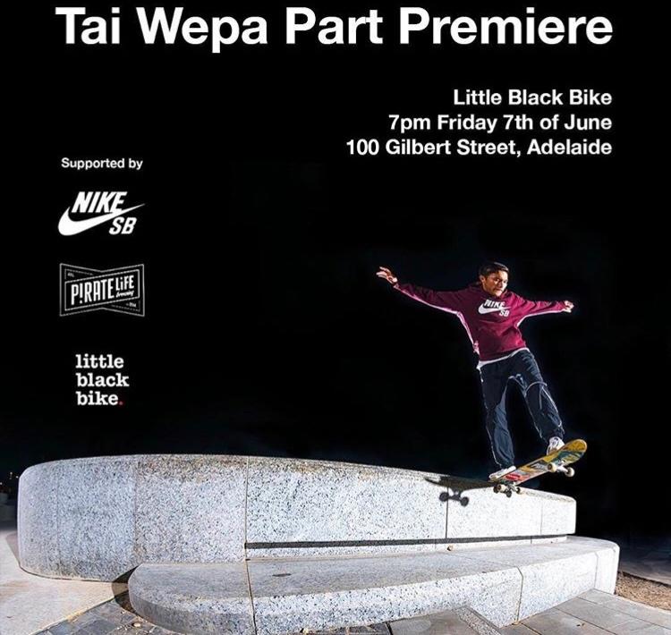 Tai Wepa Premiere