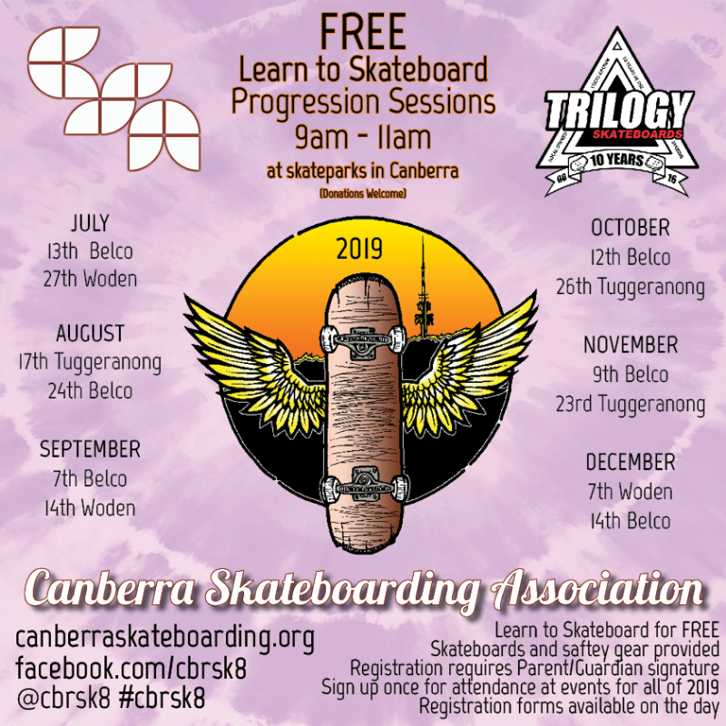Free Learn to Skateboard Sessions in Canberra
