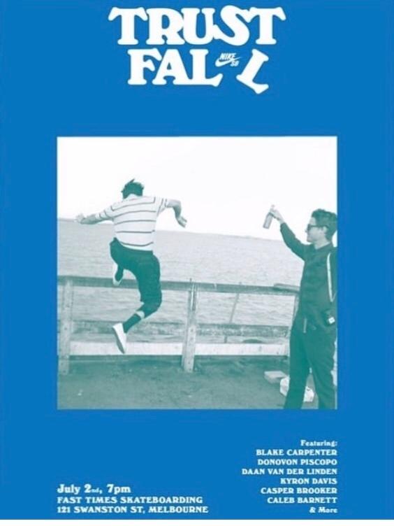 Trust Fall Premiere