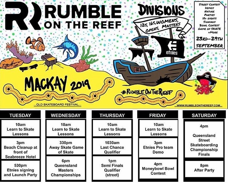 Rumble on the Reef 2019