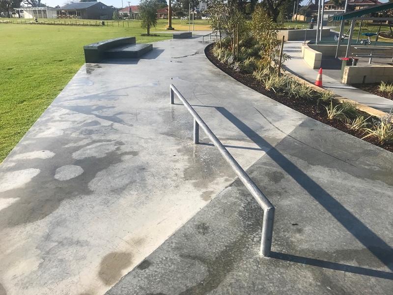 RE: Robinson Reserve Skate Path