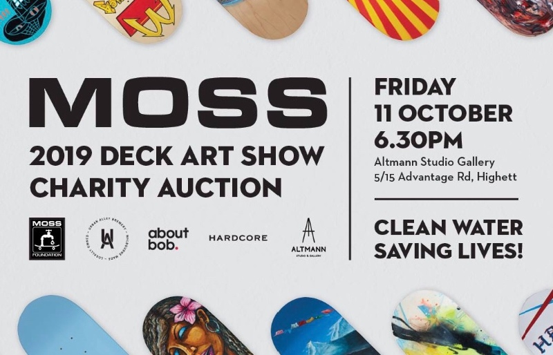 RE: MOSS Deck/Art Show 2019