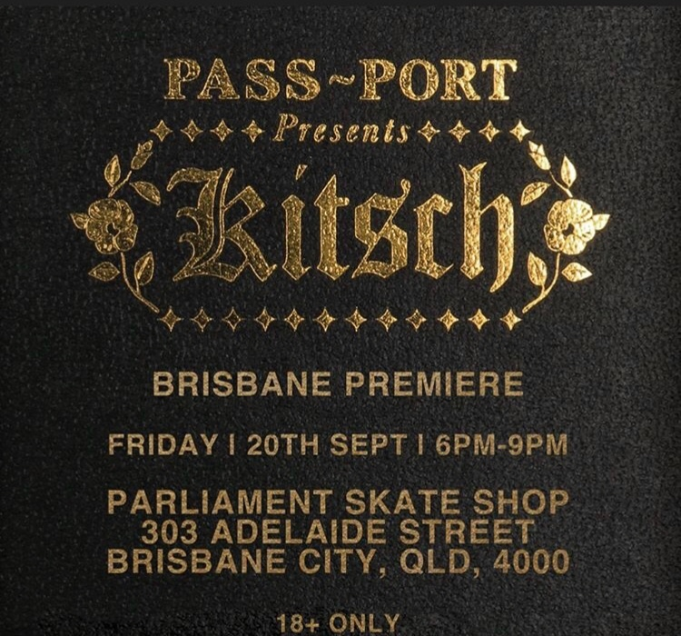 RE: Kitsch OZ Premieres