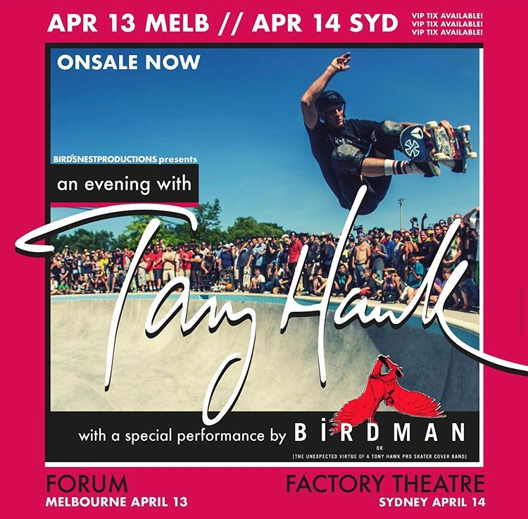 An evening with the Tony Hawk