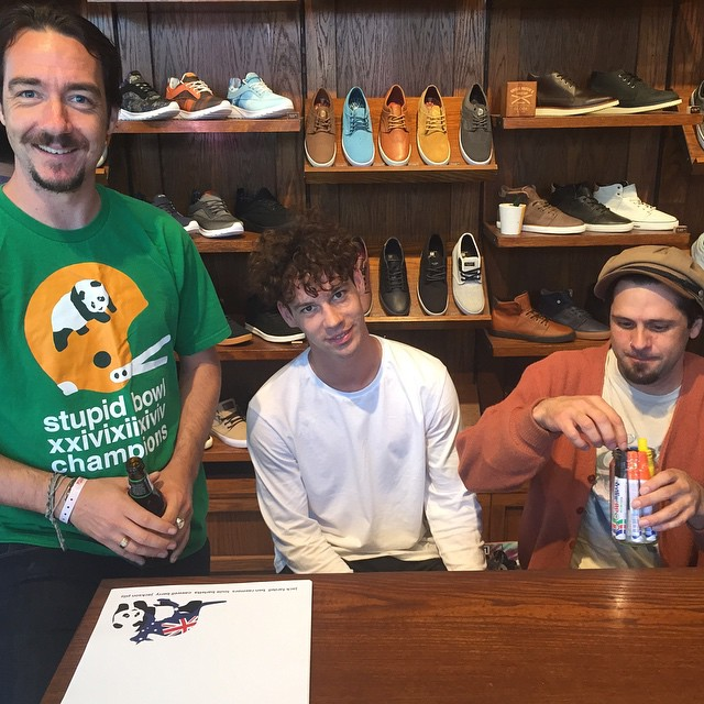 @enjoi instore going down righ