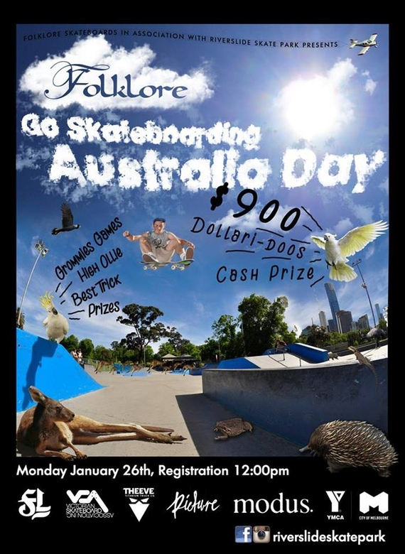 RE: Go Skateboarding Australia Day
