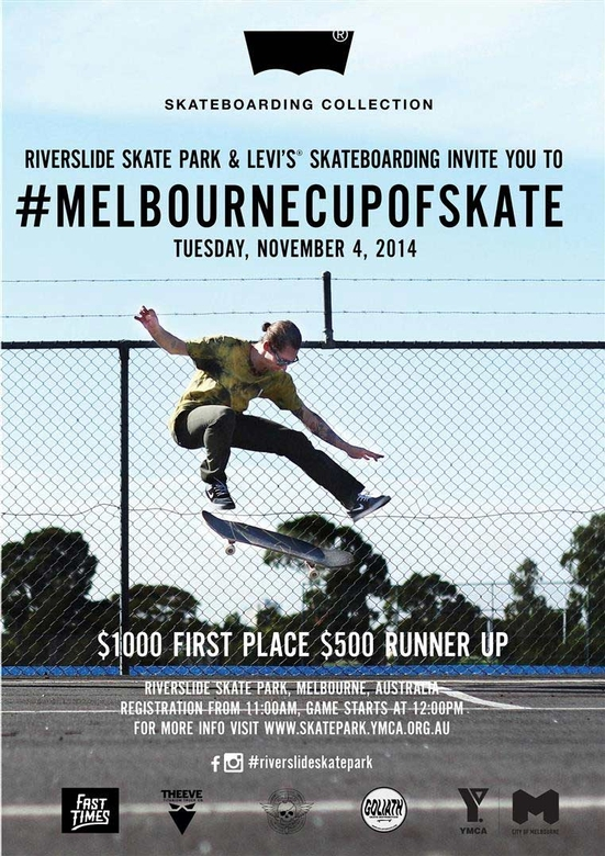 RE: Levis Melbourne Cup of Skate