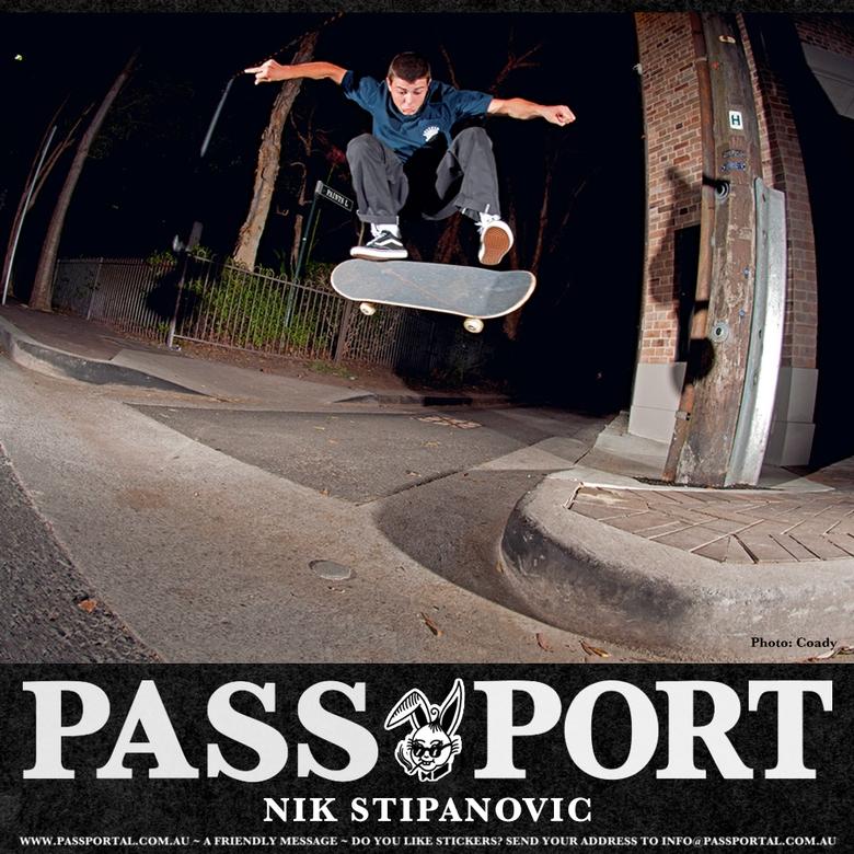 NIK STIP ON PASSPORT