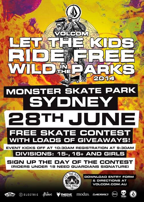 Volcom LTKRF Monster Sydney