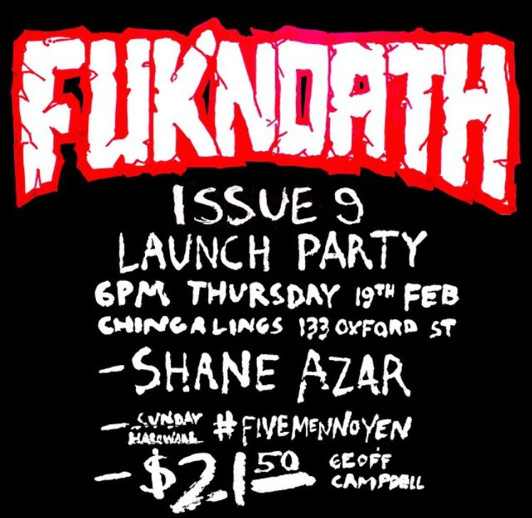 Fuknoath 9 Launch Party