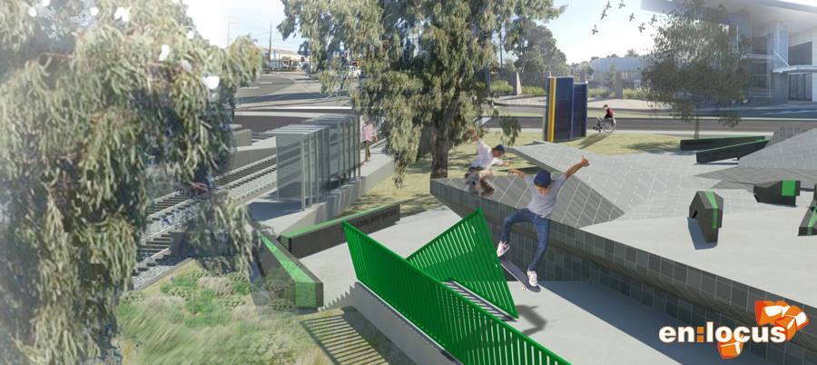 RE: HIGHPOINT SKATE PLAZA (VIC)