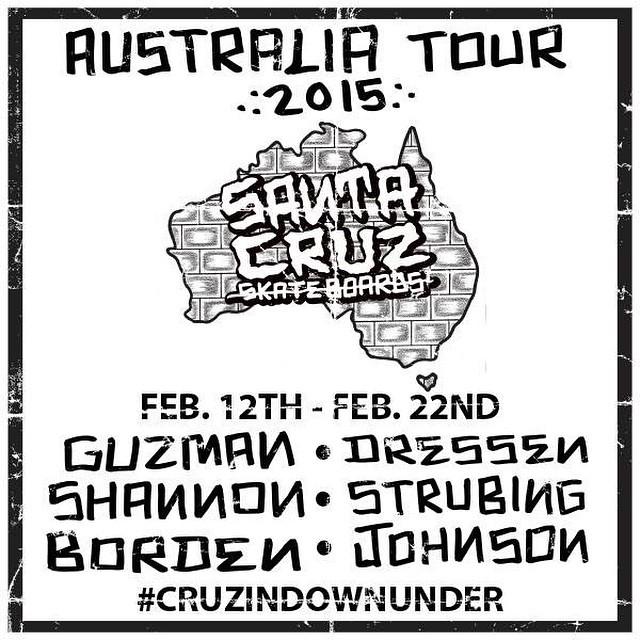 Santa Cruz Oz Tour 2015
