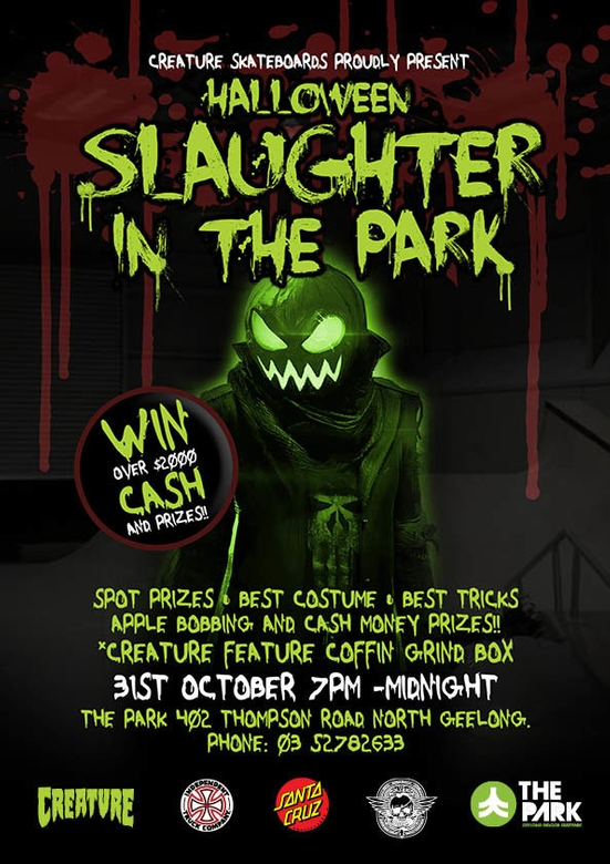 Slaughter in the Park