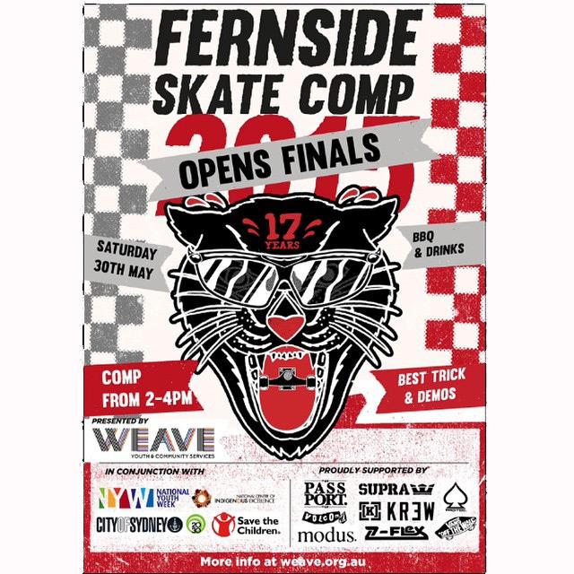 Fernside Skate Comp Finals