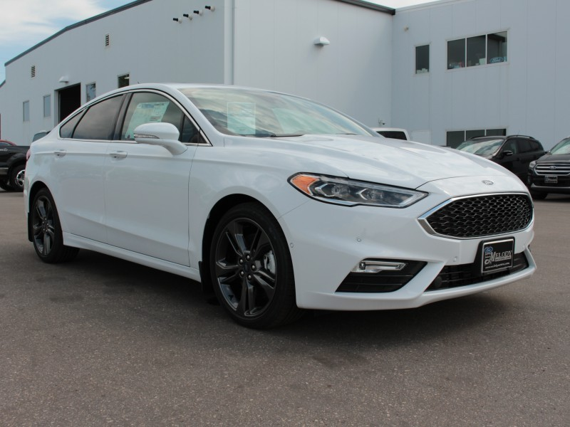 2018 Ford Fusion Sport  - Leather Seats -  Heated Seats - $217 B/W