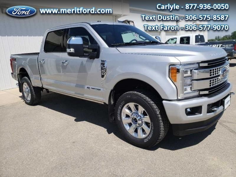 2018 Ford SuperDuty F-350 Platinum
