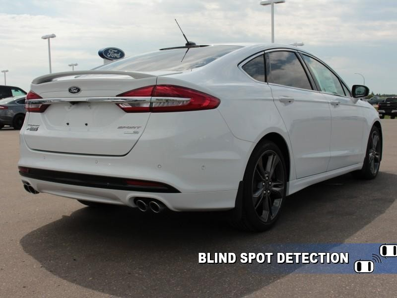 2018 Ford Fusion Sport  - Leather Seats -  Heated Seats - $250.46 B/W