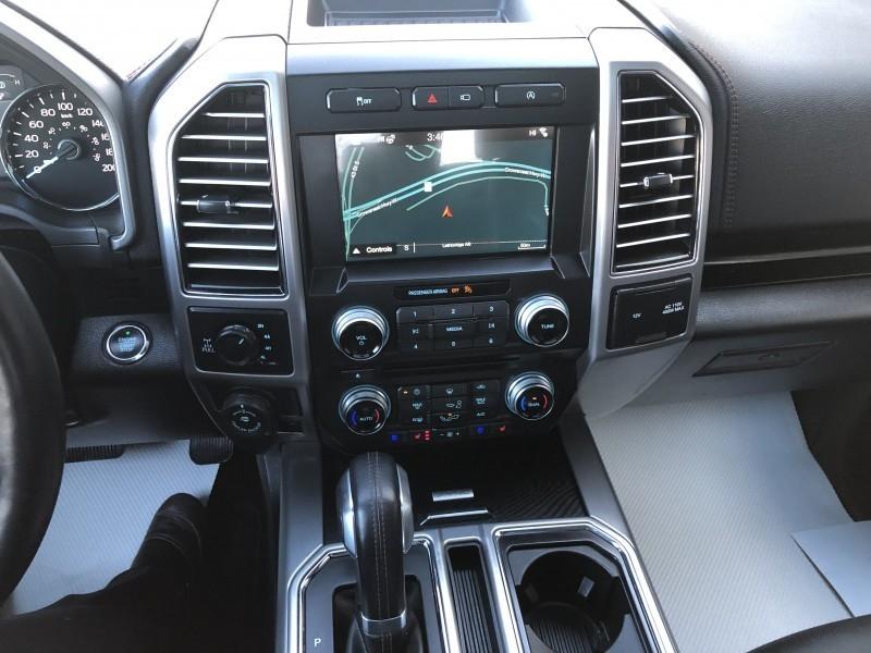 2018 Ford F-150 Platinum  - Navigation -  Leather Seats