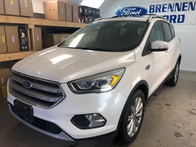 2017 Ford Escape Titanium  - Leather Seats -  Bluetooth - $176 B/W