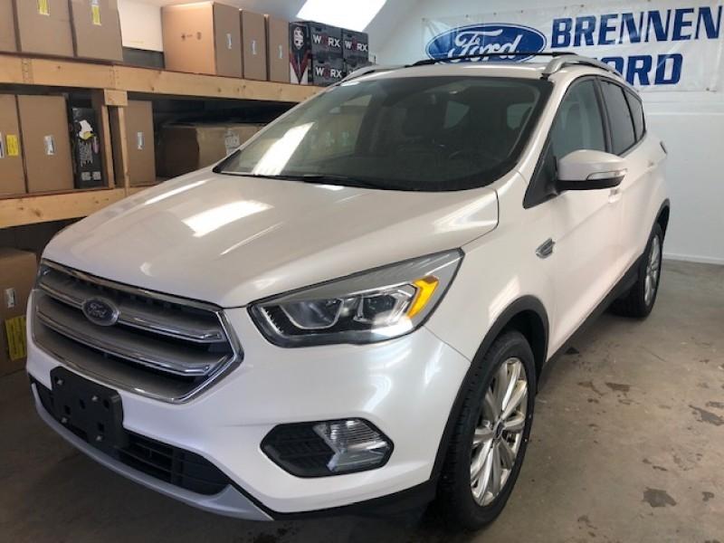 2017 Ford Escape Titanium  - Leather Seats -  Bluetooth - $176 B/W