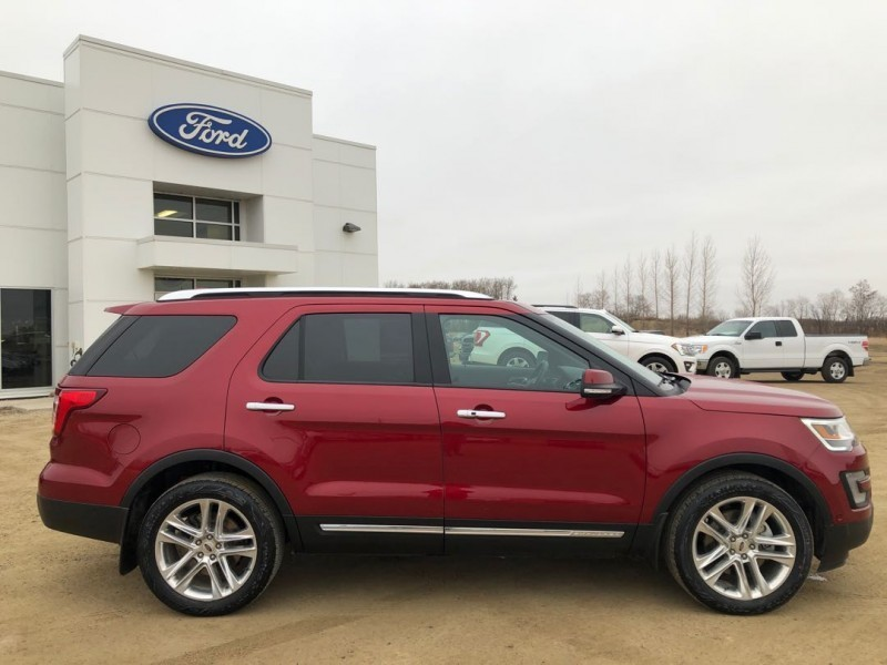 2017 Ford Explorer Limited  - Navigation -  Cooled Seats - $309.13 B/W