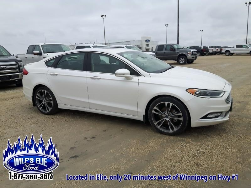 2018 Ford Fusion Titanium   - Remote Start